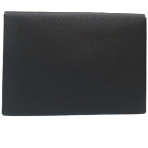 Hermes Black Clutch