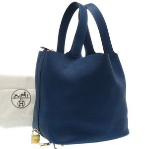 Hermes Satchel in Deep blue