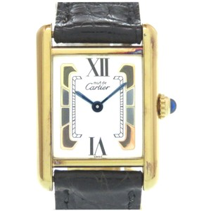 Cartier CARTIER Must Tank Vermeil Trinity Quartz Ladies Watch 5057001