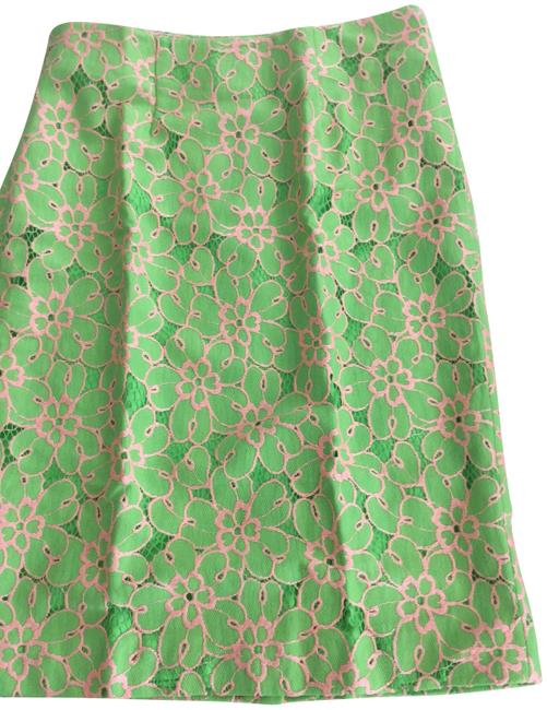 Preload https://img-static.tradesy.com/item/27218652/lilly-pulitzer-green-hyacinth-new-pique-two-tone-lace-pencil-skirt-size-2-xs-26-0-1-650-650.jpg