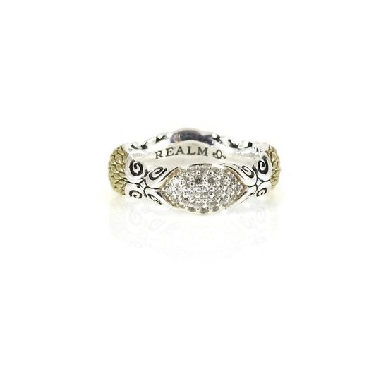 Preload https://img-static.tradesy.com/item/27218676/silver-gold-over-sterling-pave-diamond-band-ring-0-0-540-540.jpg