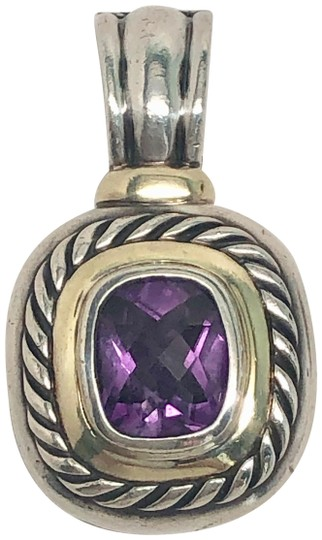 Preload https://img-static.tradesy.com/item/27218685/david-yurman-92514k-amethyst-albion-pendant-enhancer-0-1-540-540.jpg