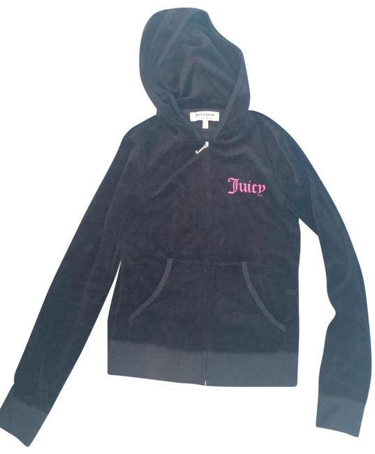 Preload https://img-static.tradesy.com/item/27218759/juicy-couture-black-velour-sweatshirthoodie-size-4-s-0-1-650-650.jpg
