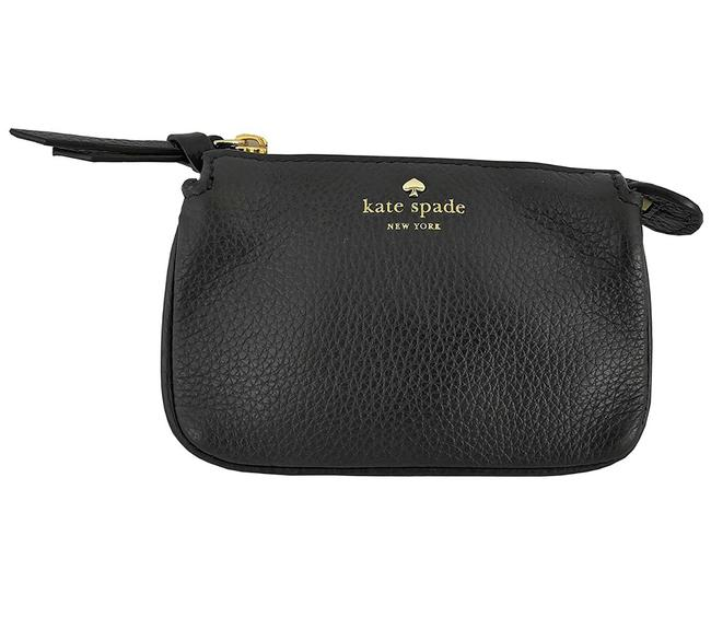 Kate Spade Black Larchmont Avenue Mini Natasha Wallet/Coin Purse Wallet Kate Spade Black Larchmont Avenue Mini Natasha Wallet/Coin Purse Wallet Image 1