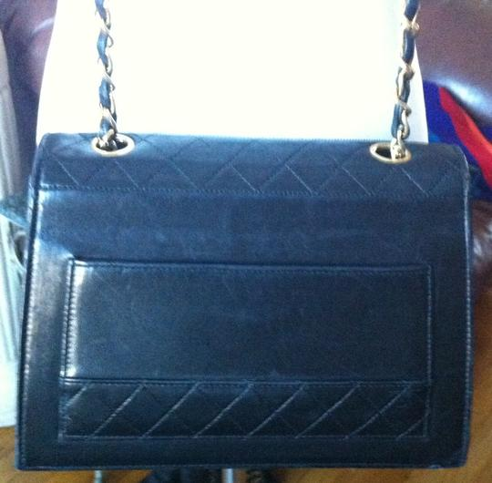 Chanel Lambskin Trapeze Quilted Chain Cross Body Bag