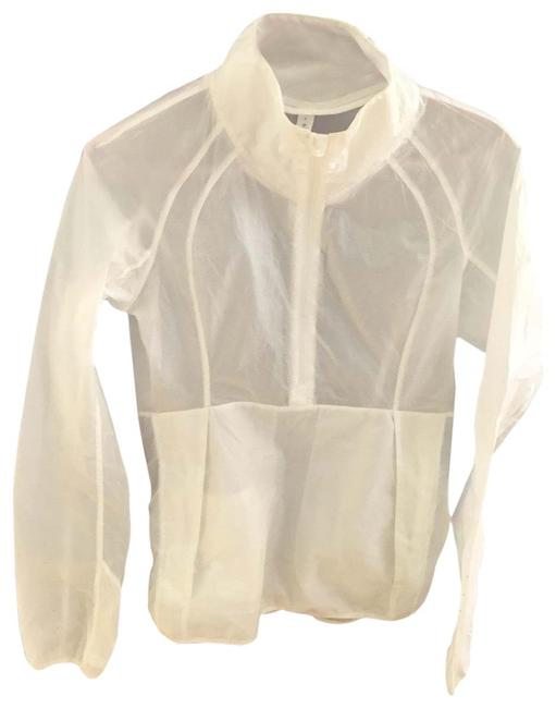 Item - White Light Activewear Outerwear Size 4 (S)