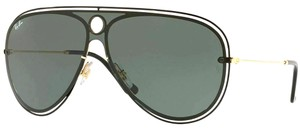 Ray-Ban Dark Green Lens Rb3605n 187/71 Unisex Aviator