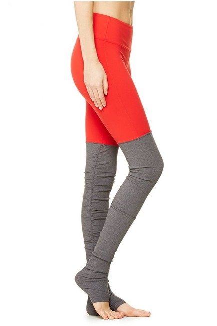 Item - Orange Goddess Ribbed Activewear Bottoms Size 6 (S, 28)
