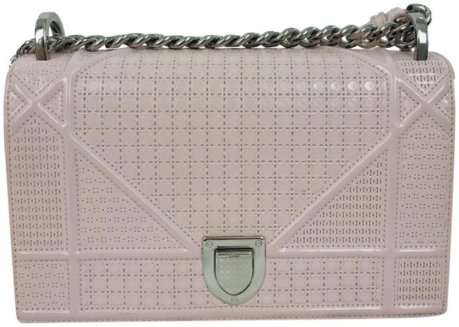 Item - Micro-cannage Small ama Pink Patent Leather Shoulder Bag