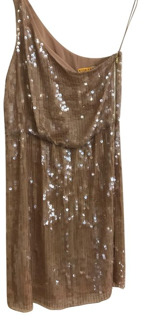 Item - Beige/Sand Sequin Short Cocktail Dress Size 8 (M)