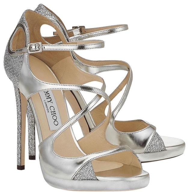 Item - Silver Fancie Platforms Size US 6 Regular (M, B)