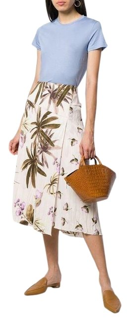 Item - Floral Print Tropical Skirt Size 6 (S, 28)
