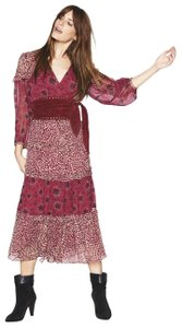 Pink Maxi Dress by ba&sh Floral Patchwork