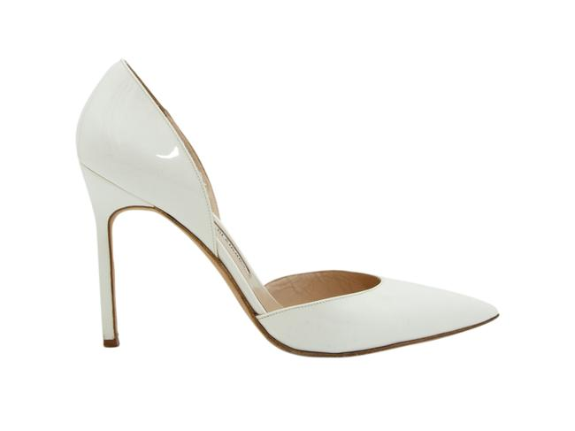 Item - White Patent Leather D'orsay Pumps Size US 9.5 Regular (M, B)