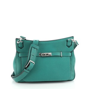 Hermes Leather Cross Body Bag