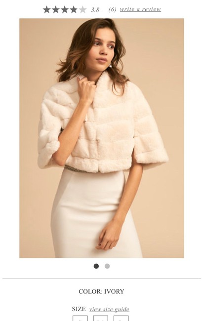 Item - Ivory Faux Fur Cover Up