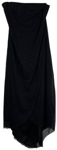 California Concepts Overlay Beaded Strapless Dress