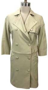 Tocca Spring Double-breasted Good Condition Convertible Trench Coat