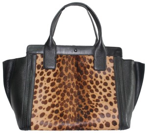 Chloé Leather Tote in ANIMAL PRINT