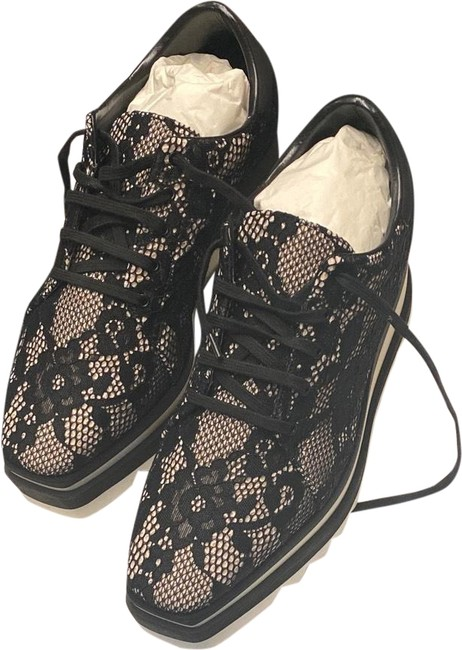 Item - Lace Black and White Mx Carty Sneakers Size US 10 Regular (M, B)