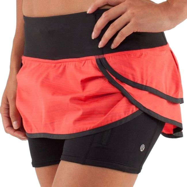Item - Red (W/Black Shorts) Speed Squad Running Activewear Bottoms Size 10 (M)