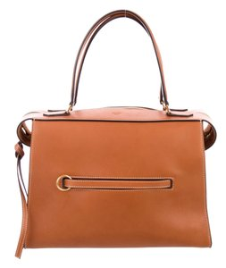 Céline Ring Small Ring Ring Ring Ring Tote in Brown Tan Natural
