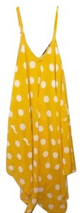 Yellow White Maxi Dress by Mlle Gabrielle