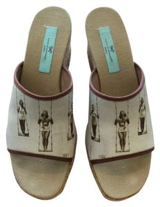 Anya Hindmarch Beige Wedges