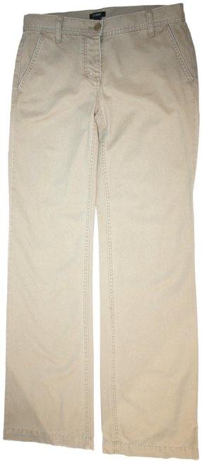 Item - Khaki Low Fit Button Fly Straight Leg Jeans Size 24 (0, XS)