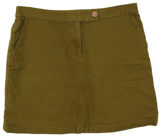 Item - Olive Green Virginia Vanessa Pickstitched Skirt Size 8 (M, 29, 30)