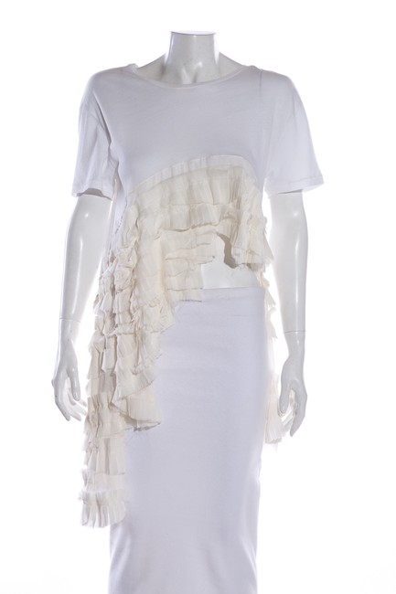 Item - Ivory M Exclusive Blouse Size 8 (M)