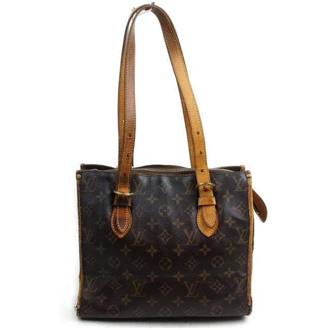 Item - Popincourt Bag Lv Brown Leather Tote