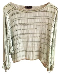 Royal Feelings Sequin Vintage Gucci Top mint / silver