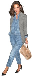 Almost Famous Clothing Denim Katie Holmes Utility Dress