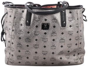 MCM Shopper Limited Edition Cheap Tote in Metallic