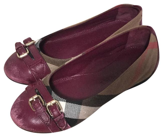 Item - Magenta Girl Flats Size EU 34 (Approx. US 4) Regular (M, B)