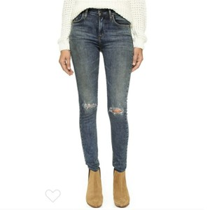 AGOLDE Skinny Jeans-Distressed