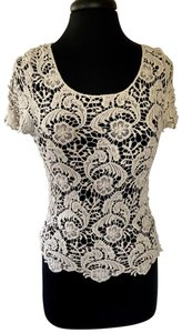 Body Central Top Ivory