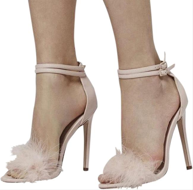 Item - Pink Reese Feather Heels Formal Shoes Size EU 39 (Approx. US 9) Regular (M, B)