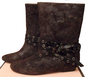 Juicy Couture Laura Dark Gray Boots