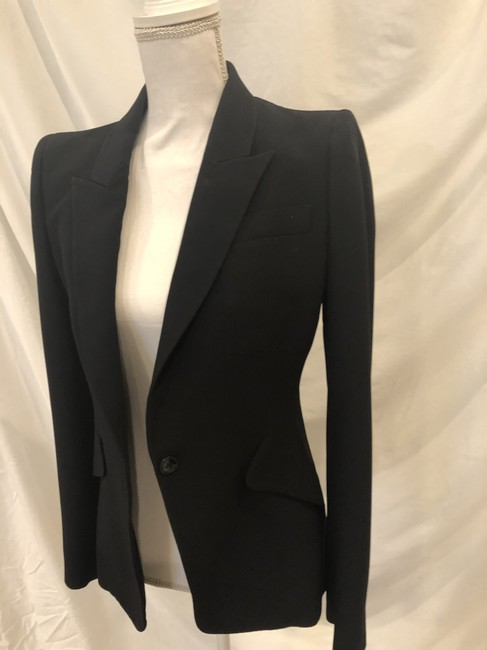Item - Black Classic Double-breasted Suiting Blazer Pant Suit Size 8 (M)