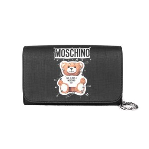 Moschino Wallet Handbag black Clutch
