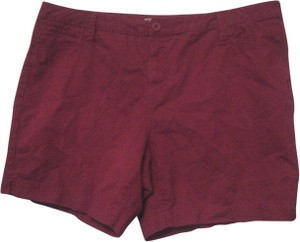 Faded Glory Bermuda Shorts Red
