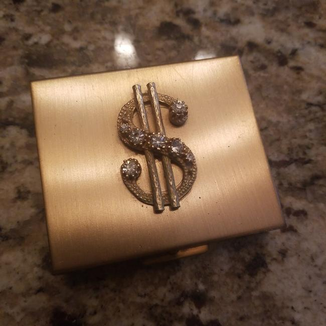 Item - Goldish Finish and Sparkly Gem Detail Coin Purse Barware