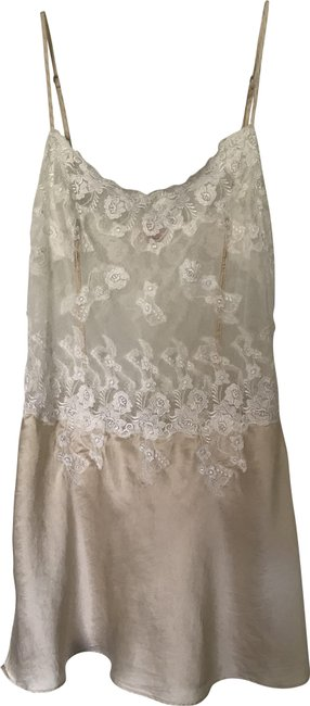Item - Ivory Lace Cami Cover-up/Sarong Size 6 (S)