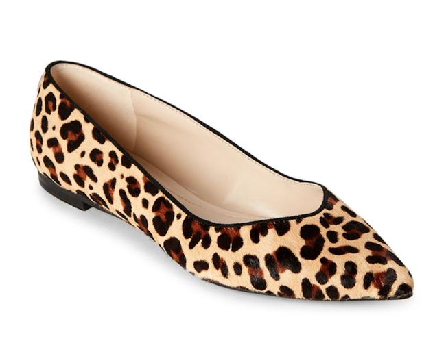 Marc Fisher Leopard Leather Flats Size
