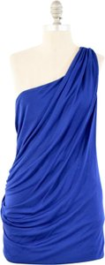 Cut25 Jersey One Shoulder Ruched Mini Dress