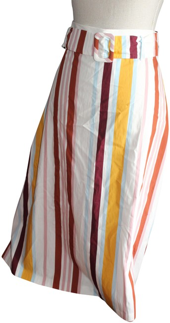 Item - Multi Color Stripe Trf Collection Skirt Size 10 (M, 31)
