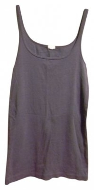 Preload https://item3.tradesy.com/images/jcrew-gray-tank-topcami-size-8-m-27232-0-0.jpg?width=400&height=650