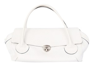 Falor Satchel in White
